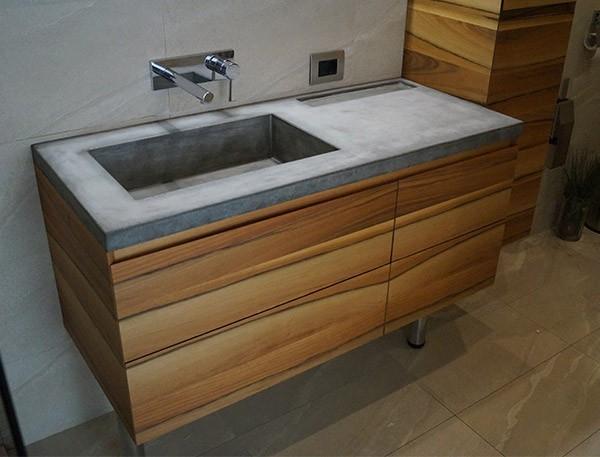 Проектирование, производство, индивидуального бетонного умывальника